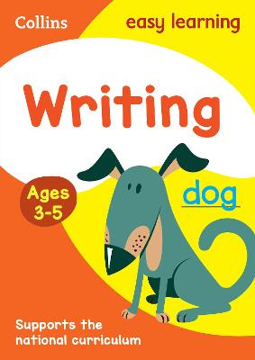 Writing Ages 3-5: New Edition by Collins Easy Learning