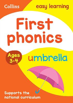 First Phonics Ages 3-4 by Collins Easy Learning