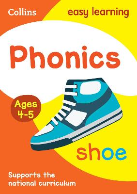 Phonics Ages 3-5 by Collins Easy Learning