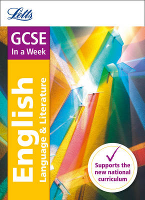 GCSE English In a Week by Letts GCSE, Ian Kirby