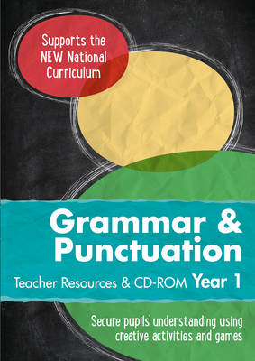 Year 1 Grammar and Punctuation Teacher Resources with CD-ROM English KS1 by Collins UK