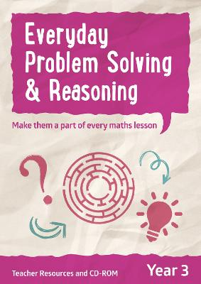 Year 3 Everyday Problem Solving and Reasoning Teacher Resources with CD-ROM by Collins UK