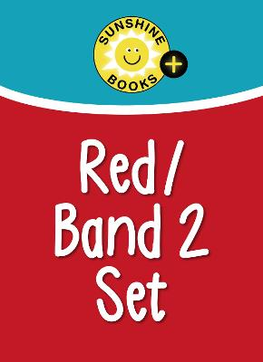 Red Set Levels 3-5/Red/Band 2 by