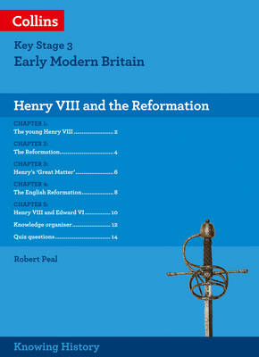 KS3 History Henry VIII and the Reformation by Robert Peal