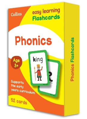 Phonics Flashcards by Collins Easy Learning