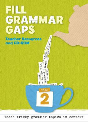 Year 2 Fill Grammar Gaps Teacher Resources with CD-ROM by Collins UK