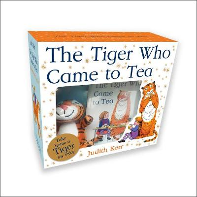 The Tiger who Came to Tea Book and Toy Gift Set by Judith Kerr