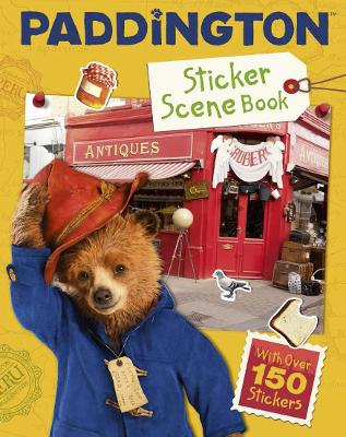 Paddington 2: Sticker Scene Book Movie Tie-in by
