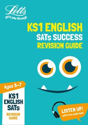 KS1 English SATs Revision Guide 2018 Tests by Letts KS1