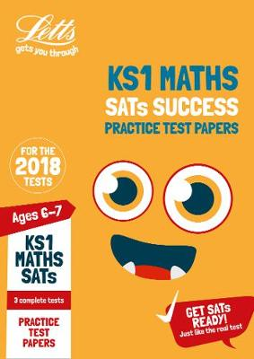 KS1 Maths SATs Practice Test Papers 2018 Tests by Letts KS1
