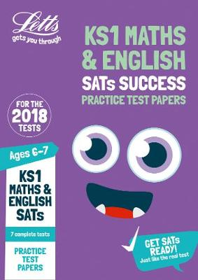 KS1 Maths and English SATs Practice Test Papers 2018 Tests by Letts KS1