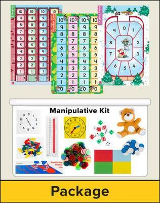 Number Worlds Level A, Manipulatives Plus Pack by McGraw-Hill Education, Sharon Griffin, SRA/McGraw-Hill