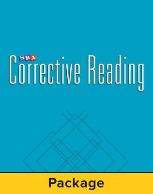 Corrective Reading Decoding Level B1, Student Workbook (pack of 5) by McGraw-Hill Education, Siegfried Engelmann