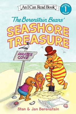 The Berenstain Bears' Seashore Treasure by Jan Berenstain, Stan Berenstain