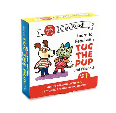 Learn to Read with Tug the Pup and Friends! Box Set 1 Levels Included: A-C by Julie M. Wood