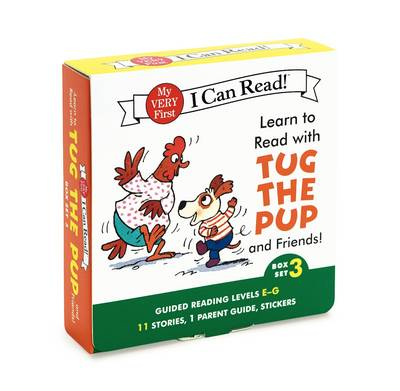 Learn to Read with Tug the Pup and Friends! Box Set 3 Levels Included: E-G by Julie M. Wood