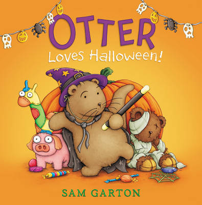 Otter Loves Halloween! by Sam Garton