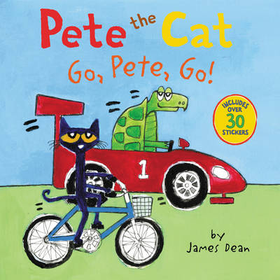 Pete the Cat: Go, Pete, Go! by James Dean
