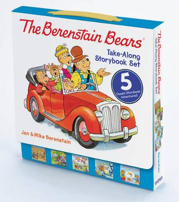 The Berenstain Bears Take-Along Storybook Set Dinosaur Dig, Go Green, When I Grow Up, Under the Sea, The Tooth Fairy by Jan Berenstain, Mike Berenstain