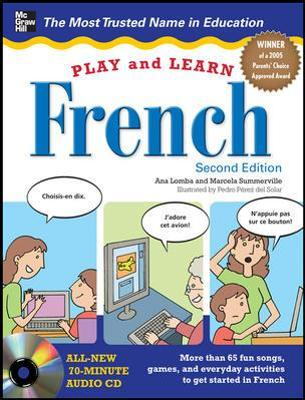 Play and Learn French with Audio CD by Ana Lomba, Marcela Summerville