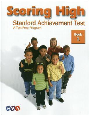 Scoring High on the SAT/10, Student Edition, Grade 1 by McGraw-Hill Education