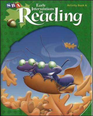 Early Interventions in Reading Level 2, Activity Book A by McGraw-Hill Education