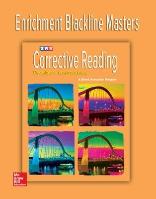 Corrective Reading Decoding Level A, Enrichment Blackline Master by McGraw-Hill Education