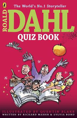 The Roald Dahl Quiz Book by Richard Maher, Sylvia Bond