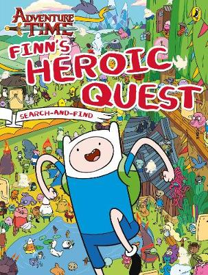 Adventure Time: Finn's Heroic Quest Search-and-Find by