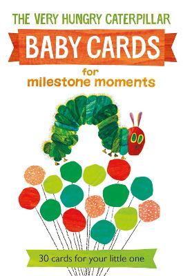 Very Hungry Caterpillar Baby Cards for Milestone Moments by