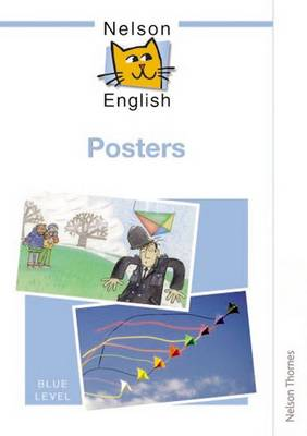 Nelson English - Blue Level Posters by John Jackman, Wendy Wren