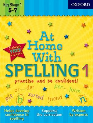 At Home With Spelling 1 by Deirdre Coates
