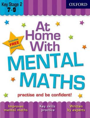 At Home with Mental Maths (7-9) by Sarah Lindsay