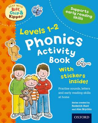 Oxford Reading Tree Read With Biff, Chip, and Kipper: Levels 1-2: Phonics Activity Book by Roderick Hunt, Charlotte Raby