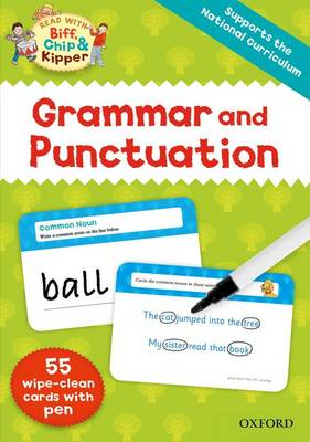 Oxford Reading Tree Read with Biff, Chip and Kipper: Grammar and Punctuation Flashcards by Roderick Hunt, Ms Annemarie Young