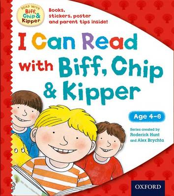 I Can Read with Biff, Chip and Kipper Pack by Roderick Hunt, Ms Cynthia Rider