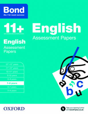 Bond 11+: English: Assessment Papers 7-8 years by Sarah Lindsay, Bond