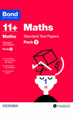 Bond 11+: Maths: Standard Test Papers Pack 1 by Andrew Baines, Bond