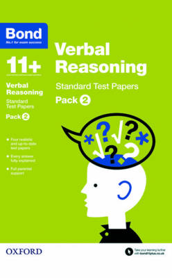 Bond 11+: Verbal Reasoning: Standard Test Papers Pack 2 by Frances Down, Bond
