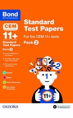 Bond 11+: CEM: Standard Test Papers Pack 2 by Michellejoy Hughes, Alison Primrose, Bond