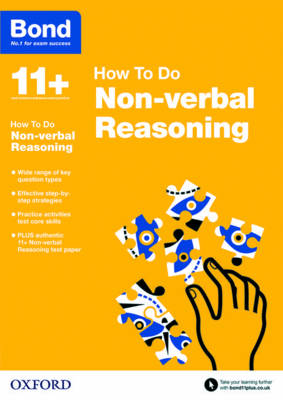 Bond 11+: Non-verbal Reasoning: How to Do by Alison Primrose, Bond