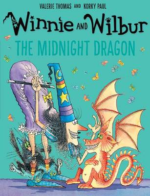 Winnie and Wilbur: The Midnight Dragon by Valerie Thomas
