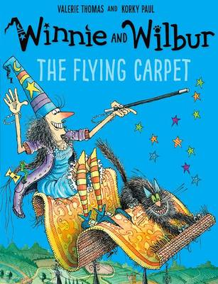 Winnie and Wilbur: The Flying Carpet with audio CD by Valerie Thomas