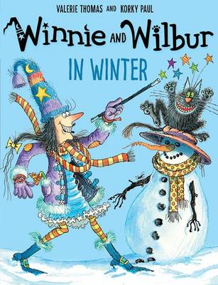Winnie and Wilbur in Winter and audio CD by Valerie Thomas