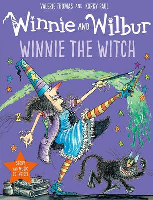 Winnie and Wilbur: Winnie the Witch with audio CD by Valerie Thomas
