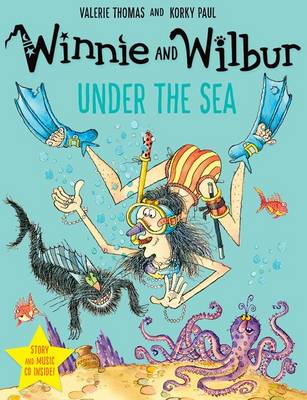 Winnie and Wilbur under the Sea with audio CD by Valerie Thomas