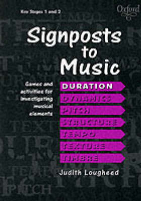 Signposts to Music Pack of 7 booklets by Judith Lougheed