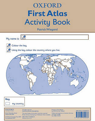 Oxford First Atlas Activity Book by Patrick Wiegand