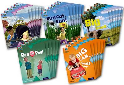 Project X Origins: Red Book Band, Oxford Level 2: Big and Small: Class Pack of 30 by Tony Bradman, Andrea Smith, Alex Lane, Emma Lynch