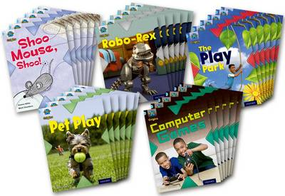 Project X Origins: Light Blue Book Band, Oxford Level 4: Toys and Games: Class Pack of 30 by Jan Burchett, Sara Vogler, Claire Llewellyn, Jeanne Willis
